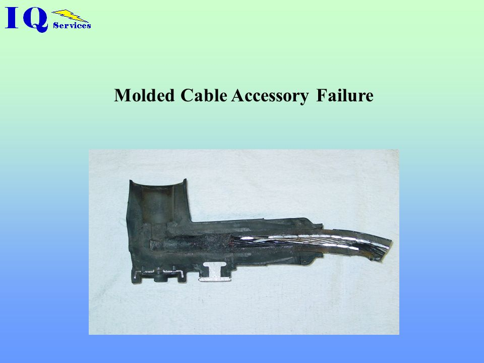 Molded Cable Accessory Failure