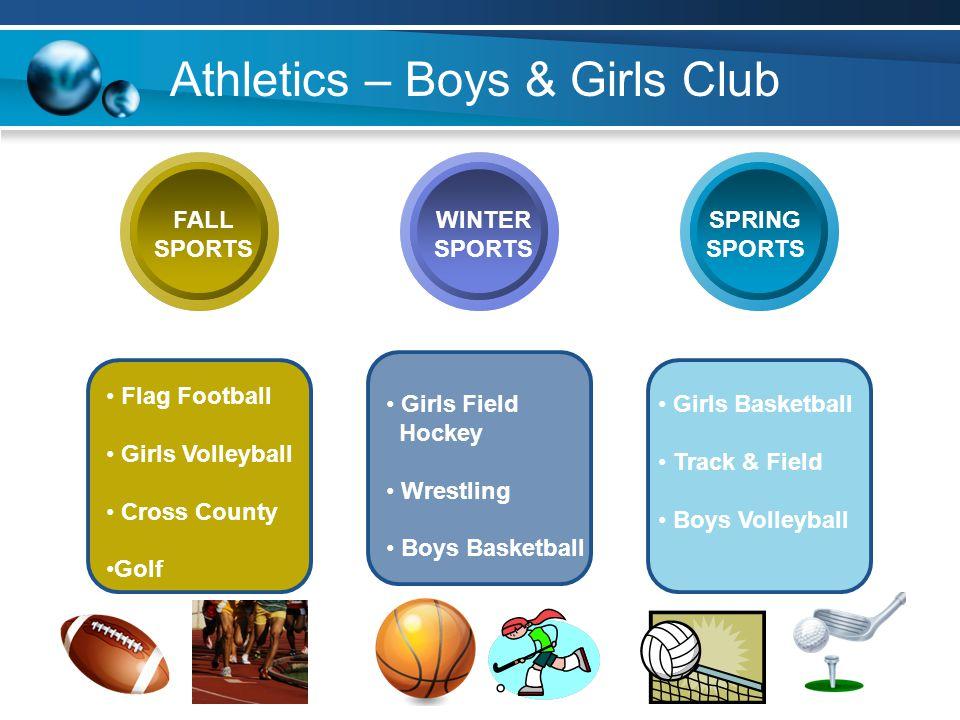 Athletics – Boys & Girls Club
