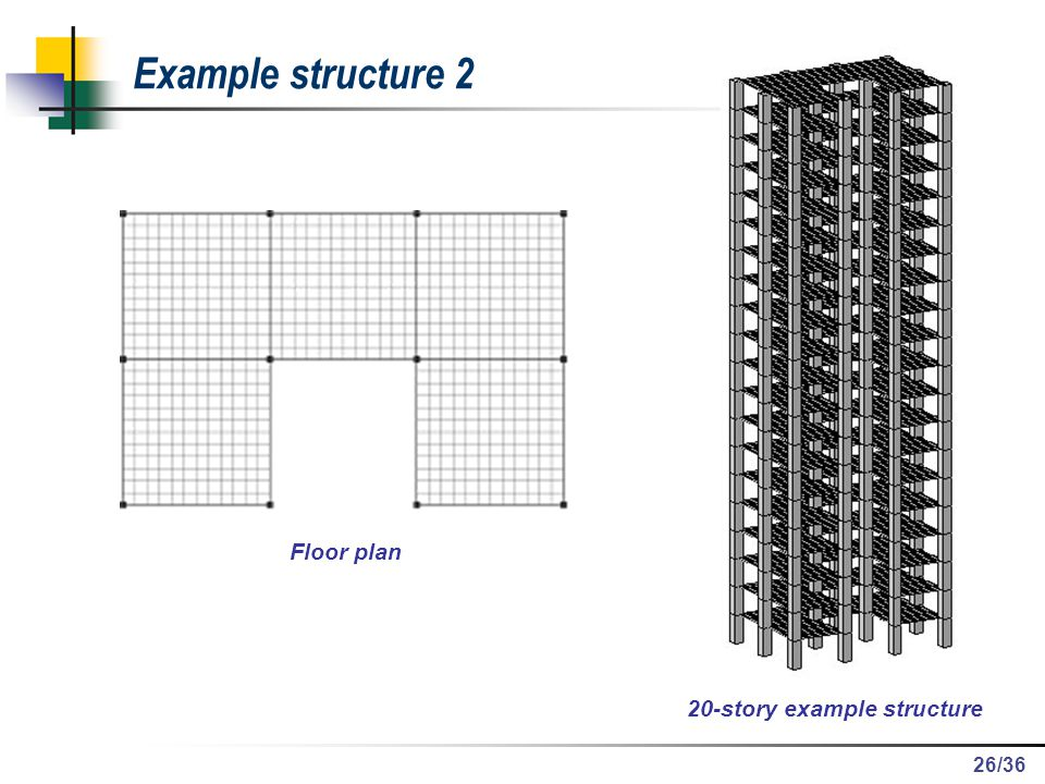 20-story example structure