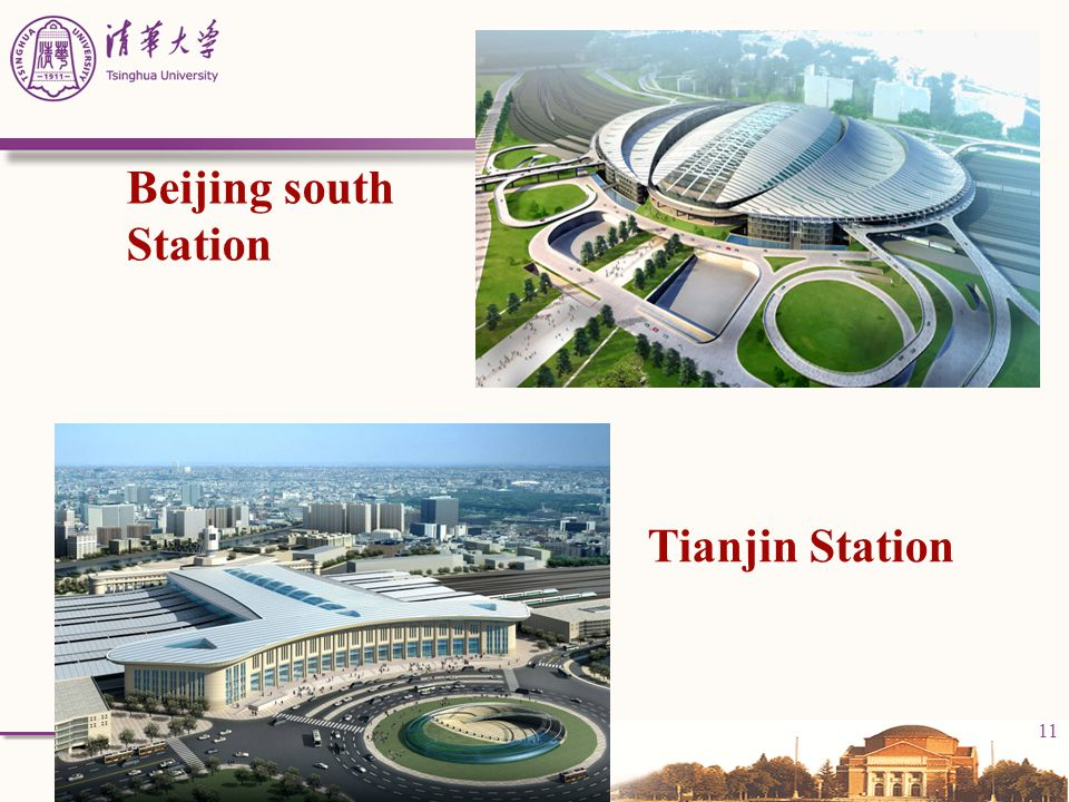 Beijing south Station Tianjin Station