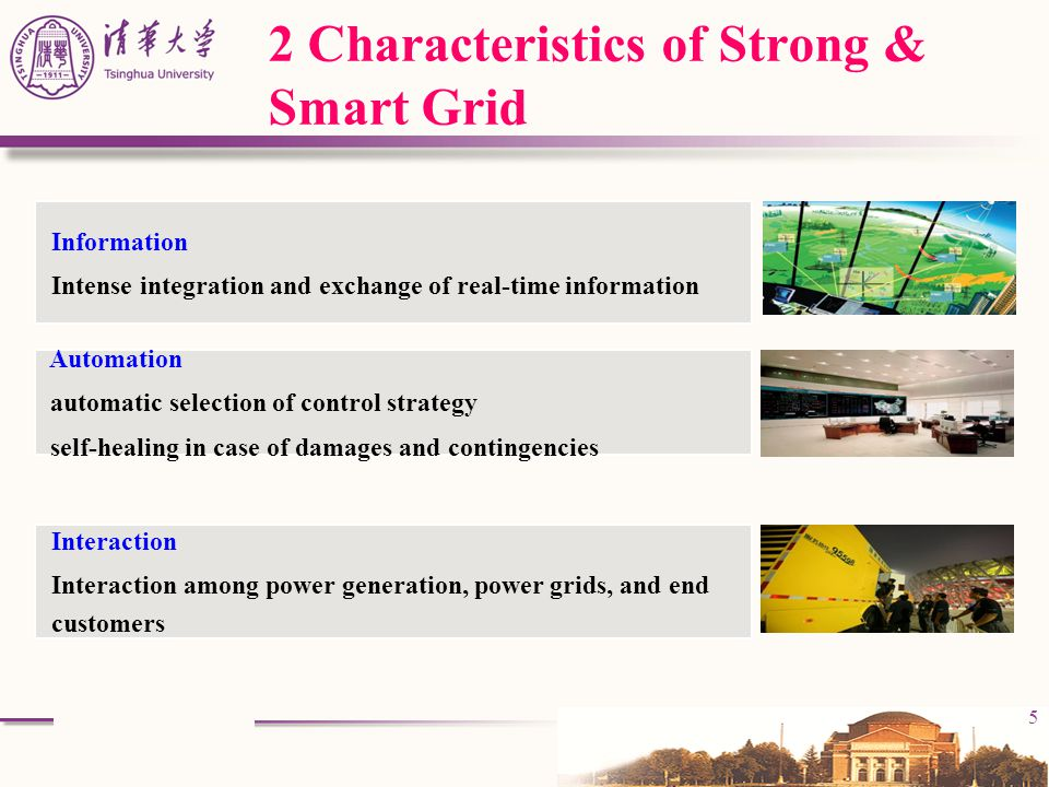 2 Characteristics of Strong & Smart Grid