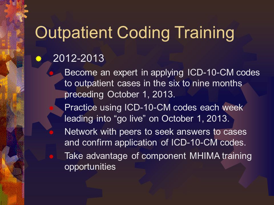 Outpatient Coding Training