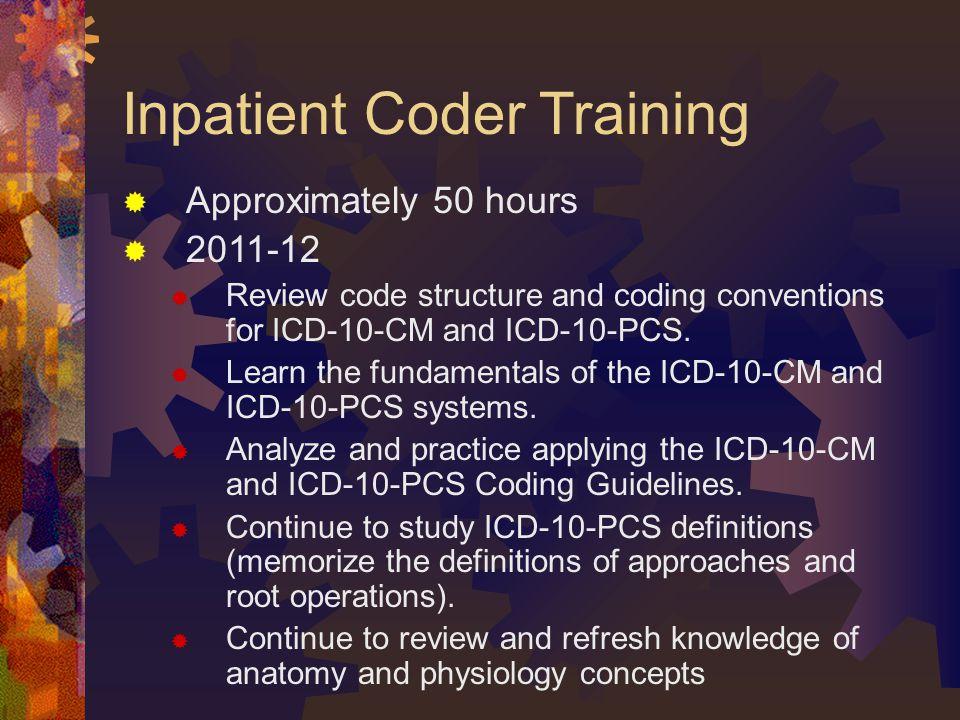 Inpatient Coder Training