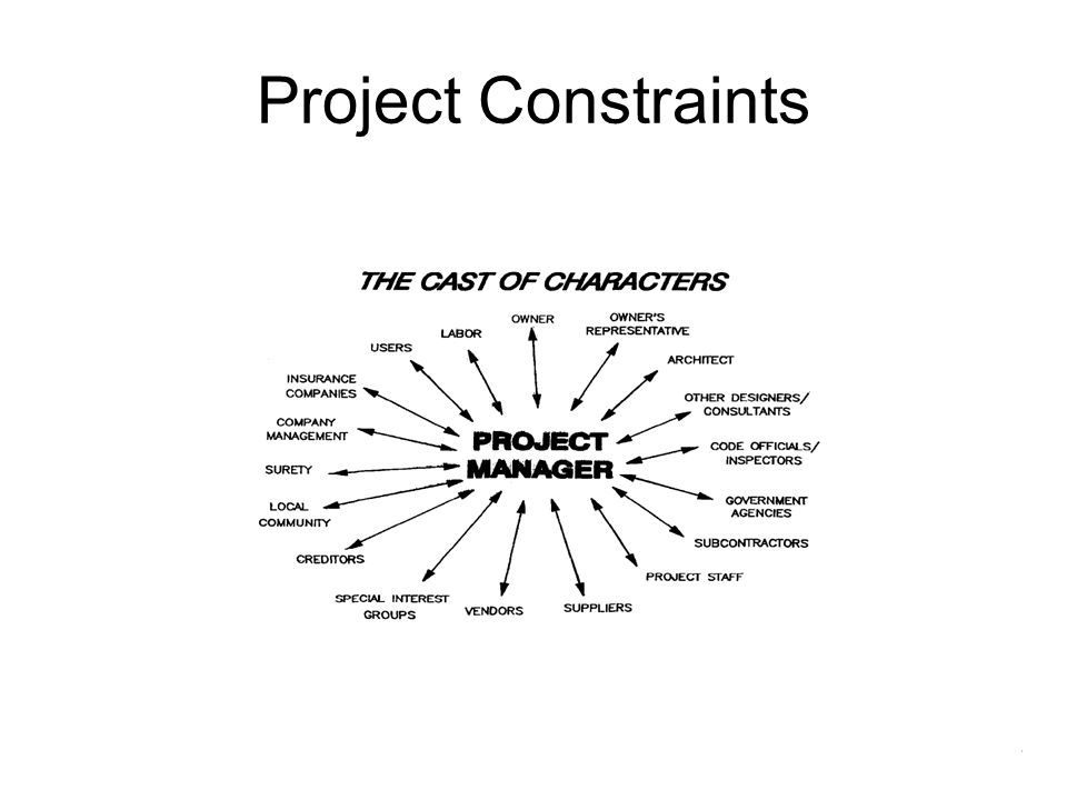 Project Constraints Ray