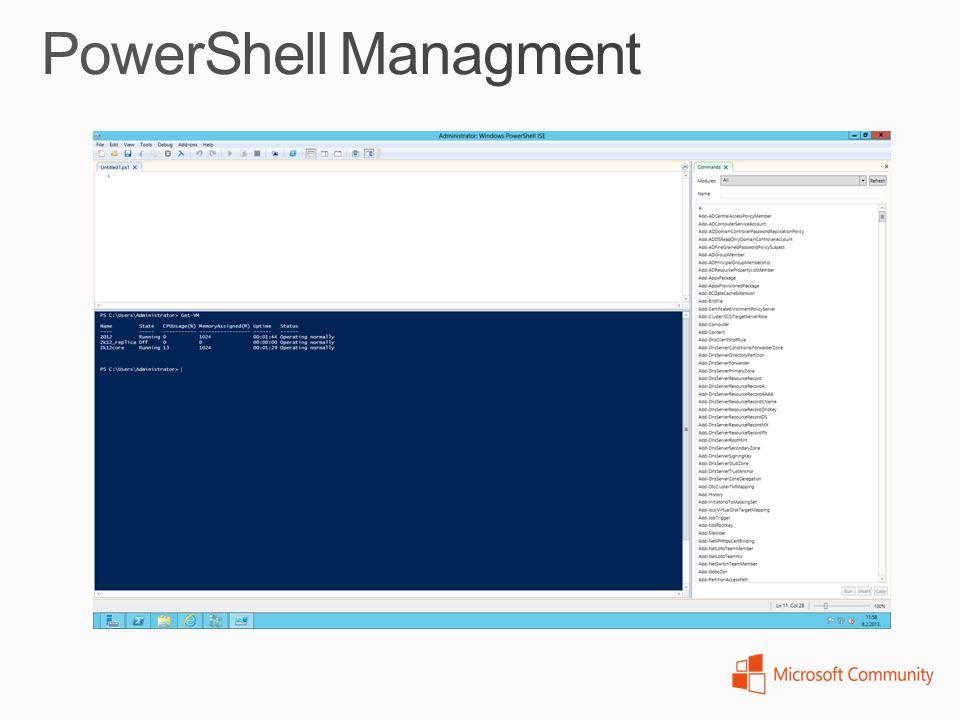 PowerShell Managment