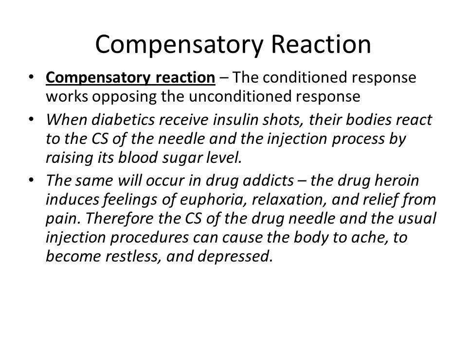 Compensatory Reaction