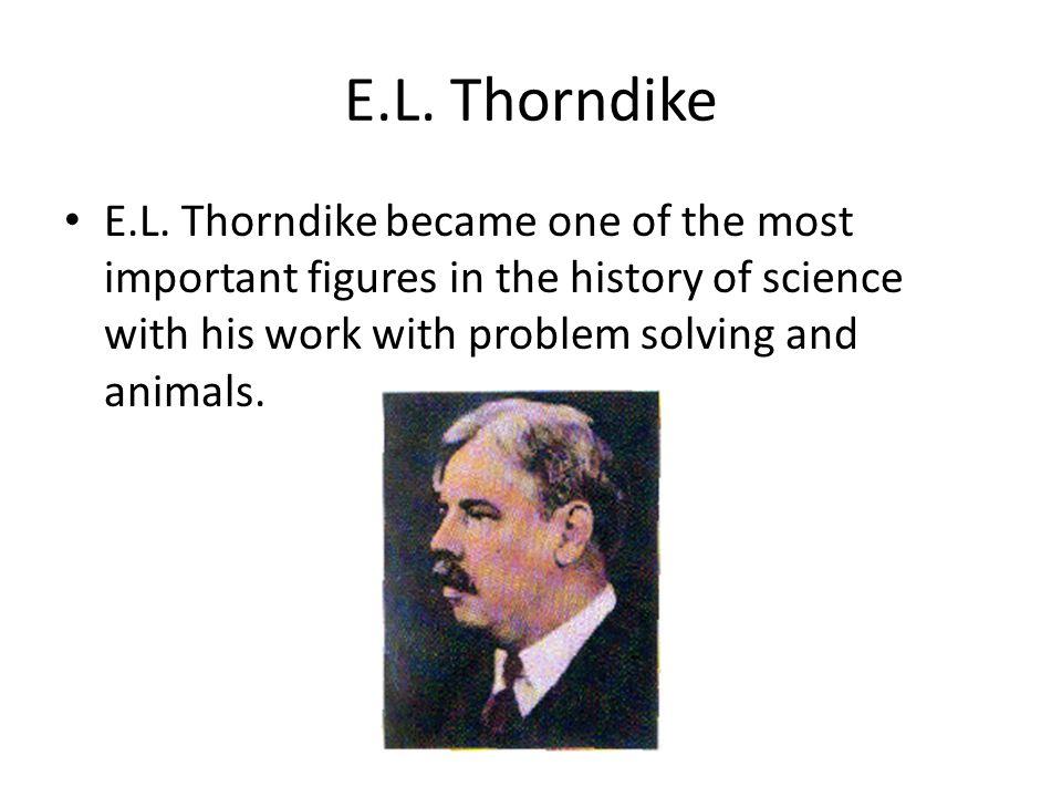 E.L. Thorndike E.L.