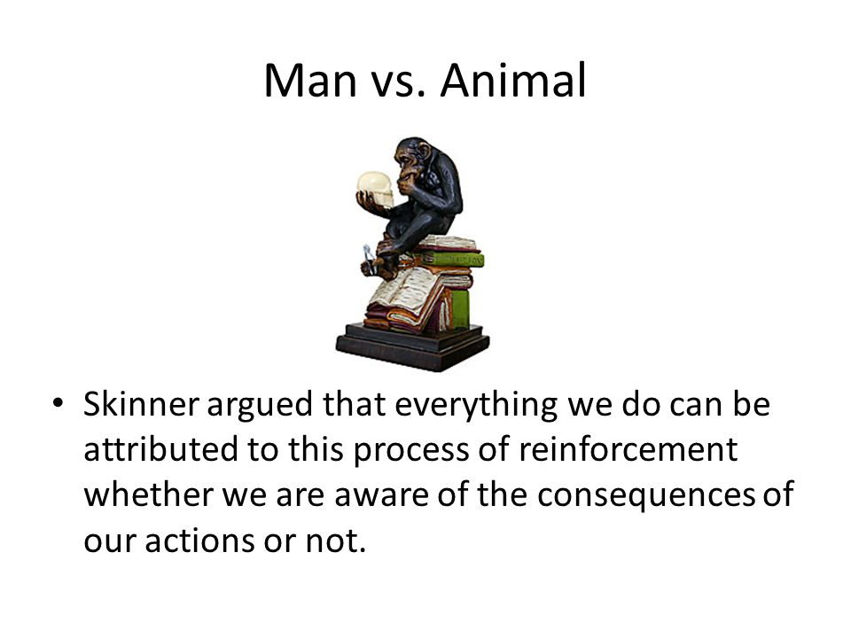 Man vs. Animal