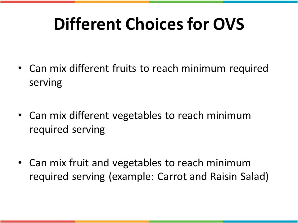 Different Choices for OVS