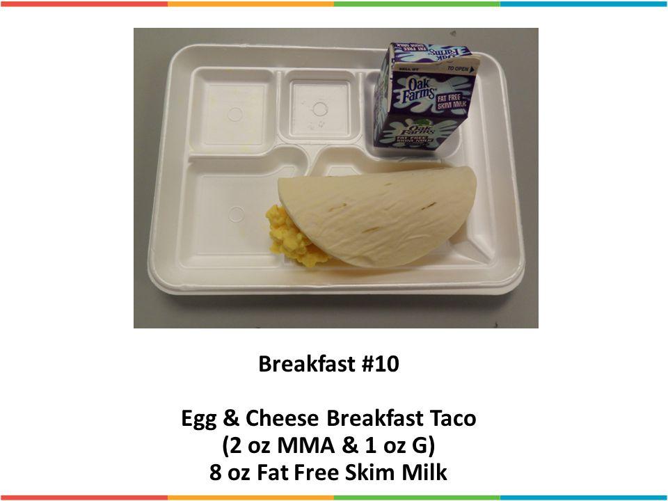 Egg & Cheese Breakfast Taco