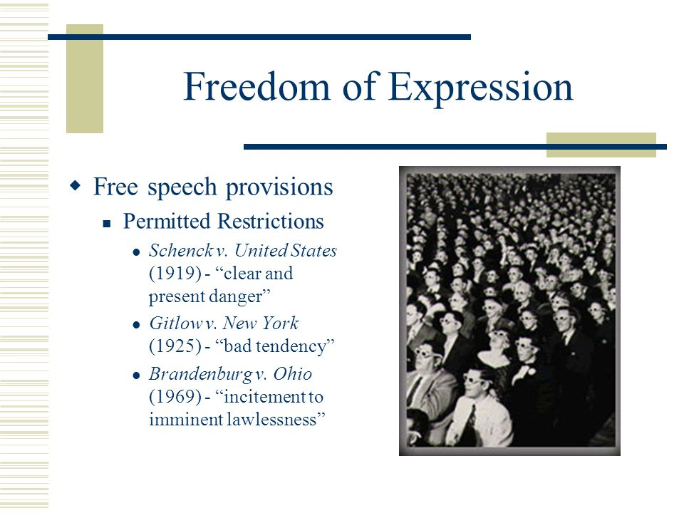 freedom of speech and expression online About freedom of opinion and expression in international law  free speech is a necessary precondition to the enjoyment of other rights, such as the right to.