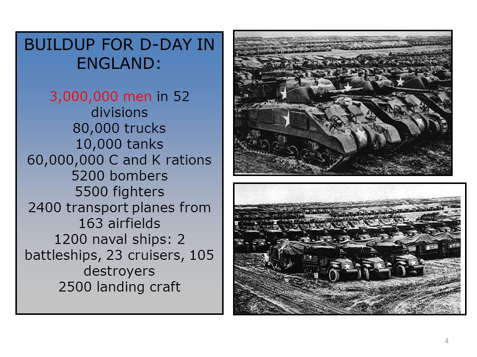 BUILDUP FOR D-DAY IN ENGLAND: