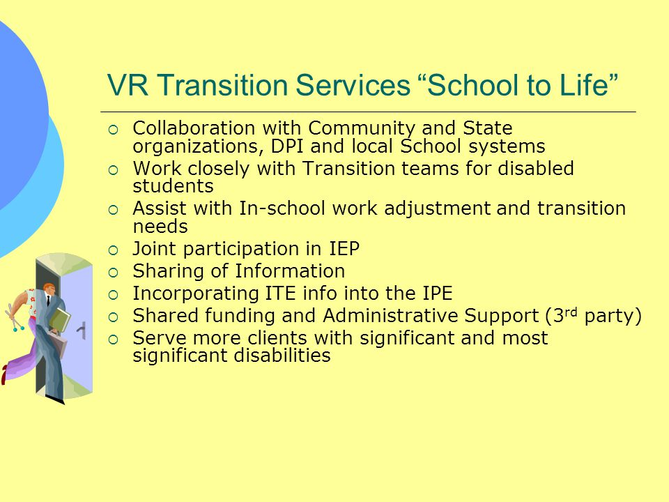 VR Transition Services School to Life