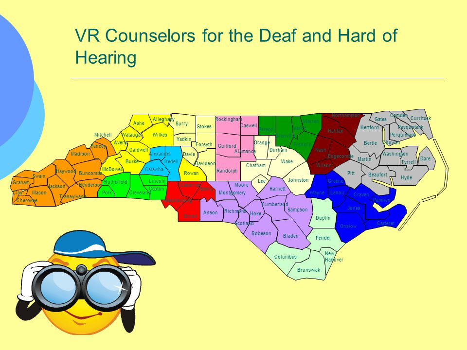 VR Counselors for the Deaf and Hard of Hearing