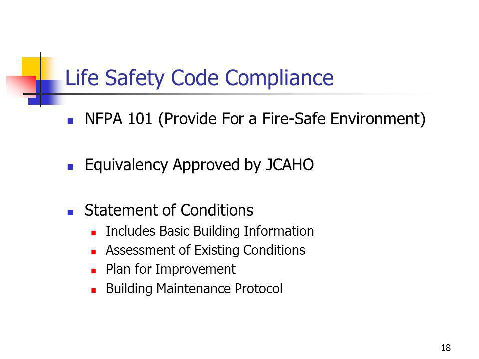 Life Safety Code Compliance