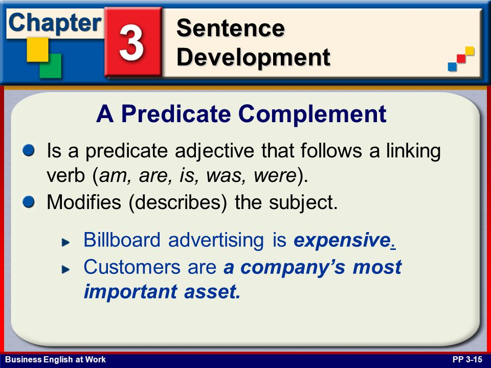 A Predicate Complement