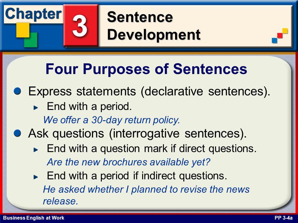 Four Purposes of Sentences