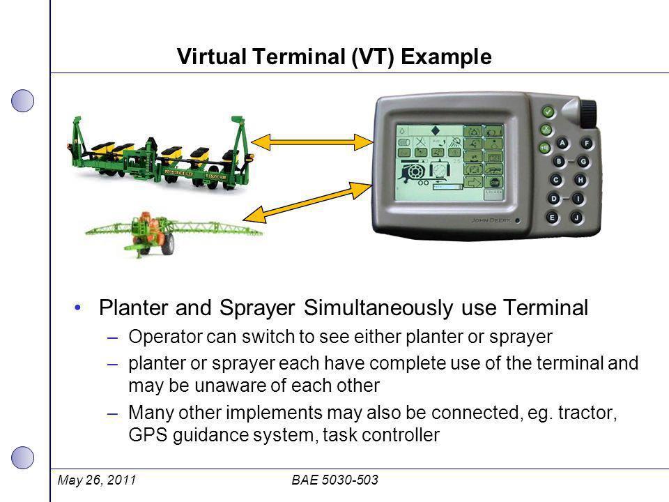Virtual Terminal (VT) Example