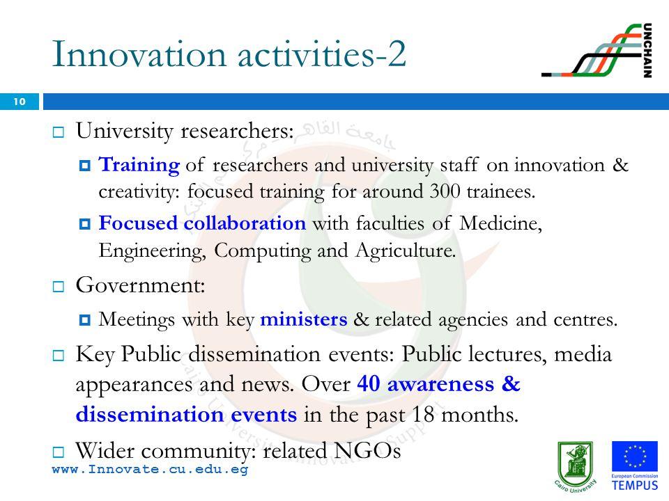 Innovation activities-2