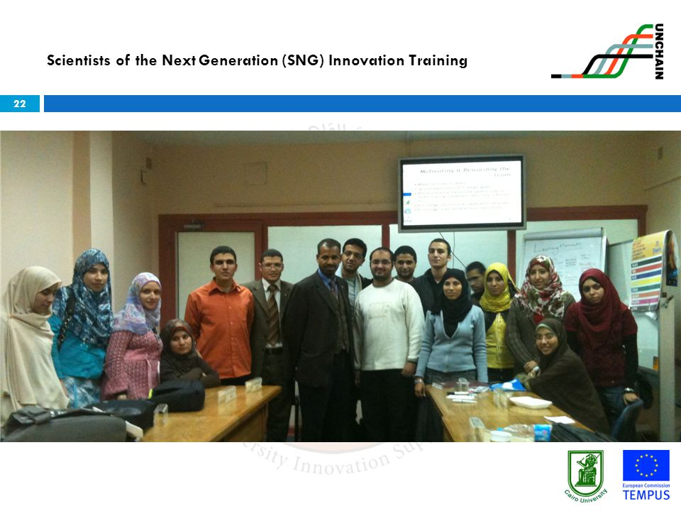Scientists of the Next Generation (SNG) Innovation Training