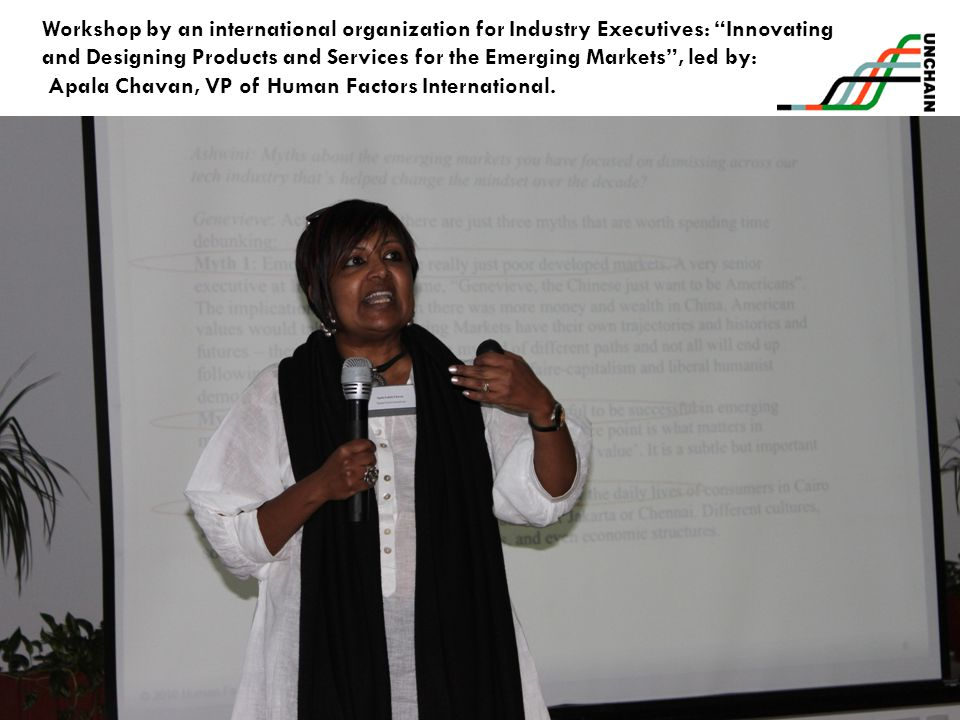 Workshop by an international organization for Industry Executives: Innovating