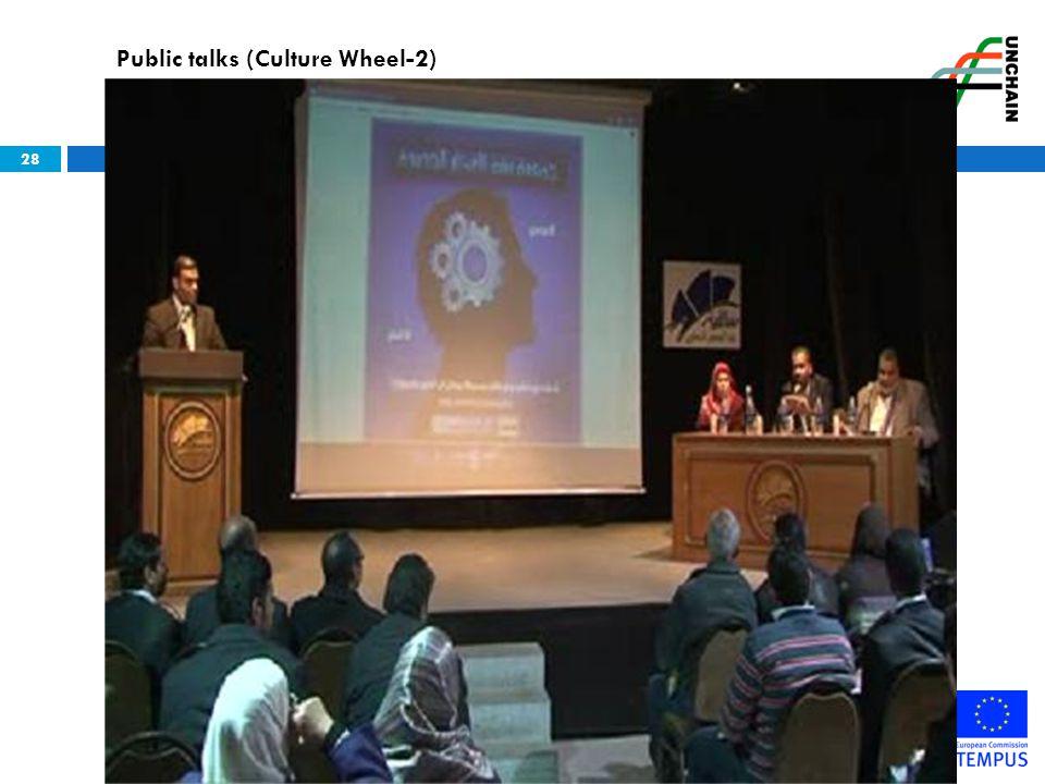 Public talks (Culture Wheel-2)