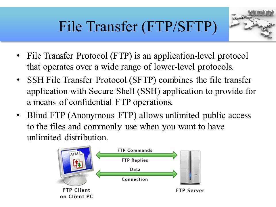 File Transfer (FTP/SFTP)