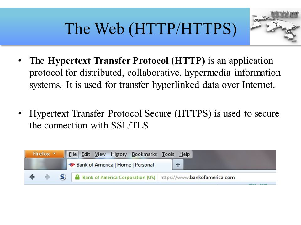 The Web (HTTP/HTTPS)