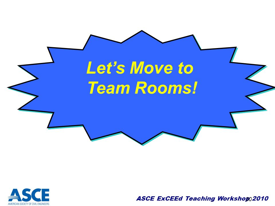 Let's Move to Team Rooms!