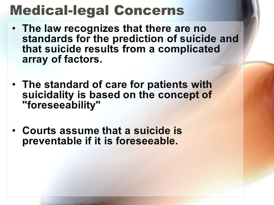 Medical-legal Concerns