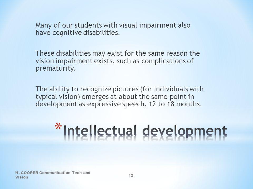 Intellectual development