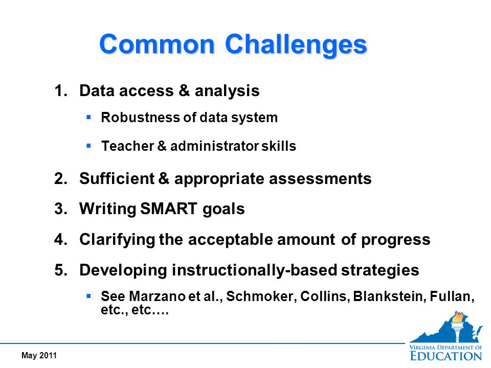 Common Challenges Data access & analysis