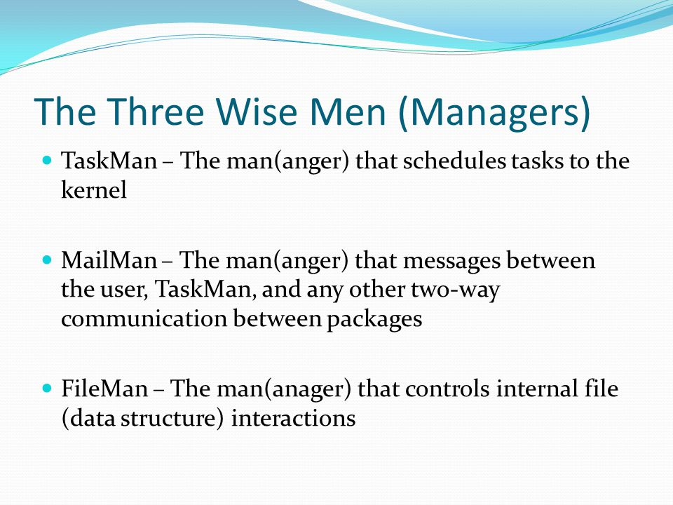 The Three Wise Men (Managers)