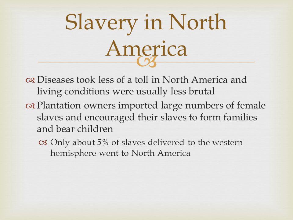 Slavery in North America
