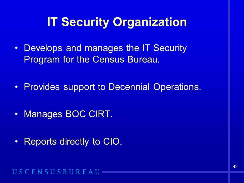 IT Security Organization