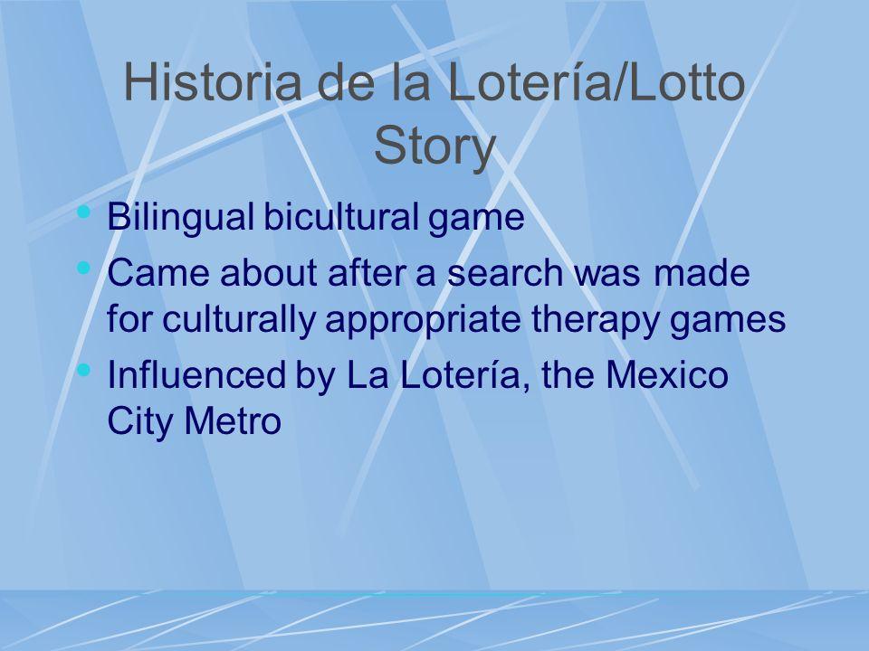 Historia de la Lotería/Lotto Story