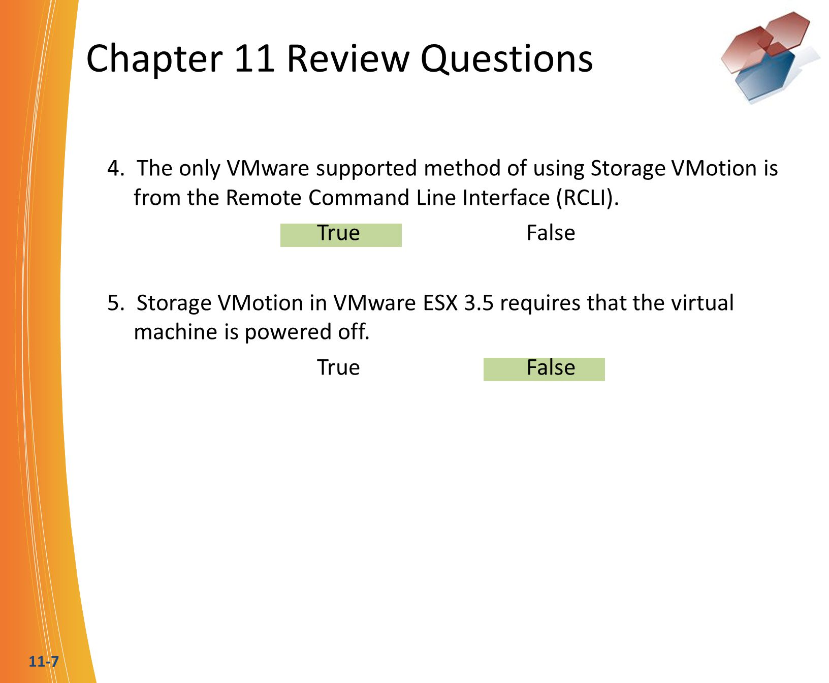Chapter 11 Review Questions