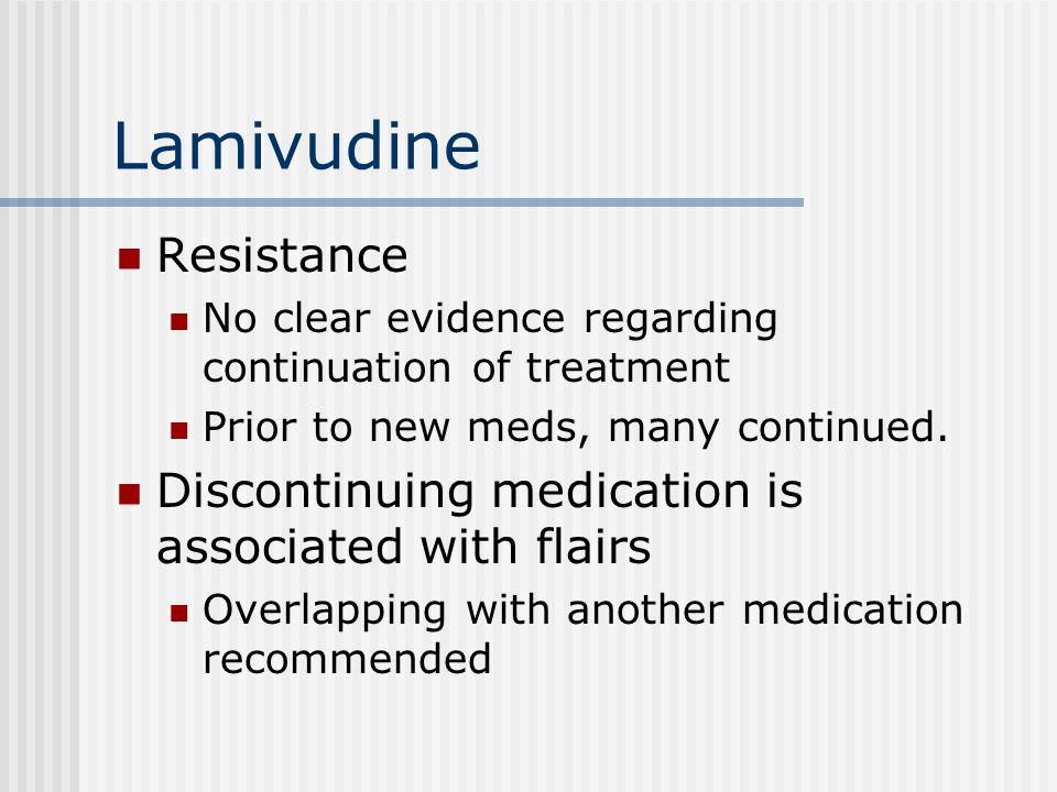 Lamivudine Resistance