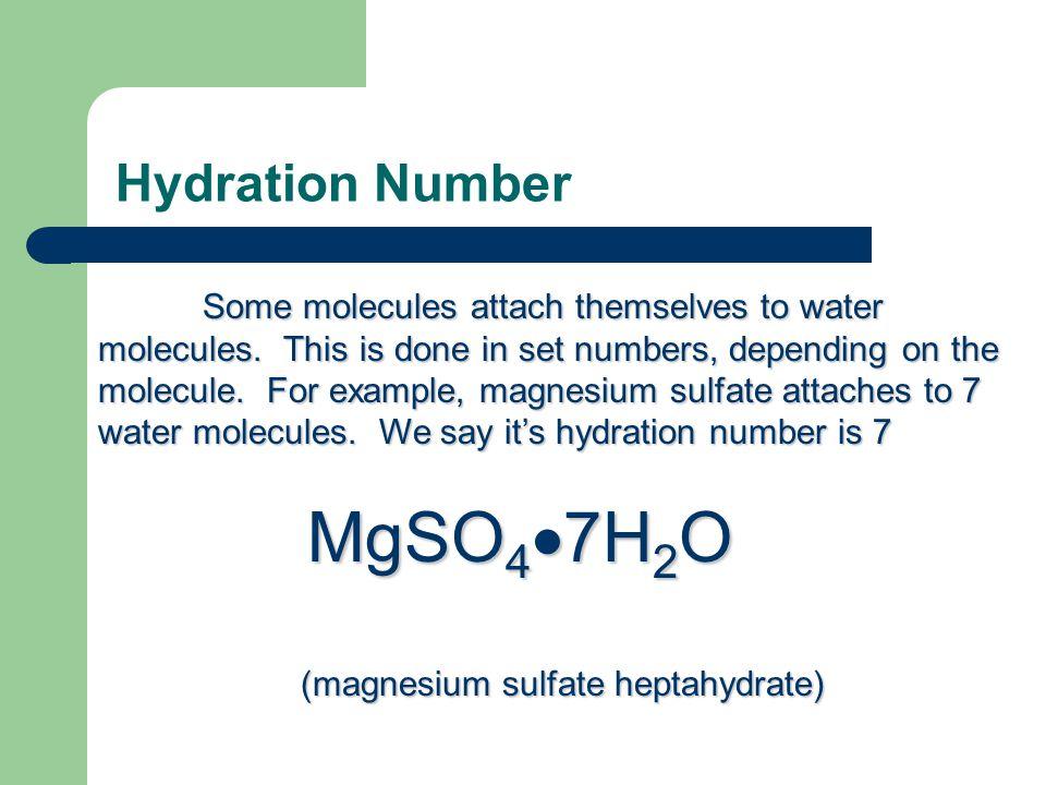 (magnesium sulfate heptahydrate)