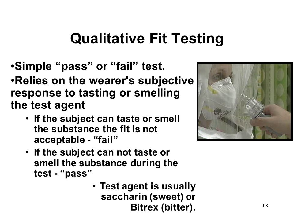 Qualitative Fit Testing