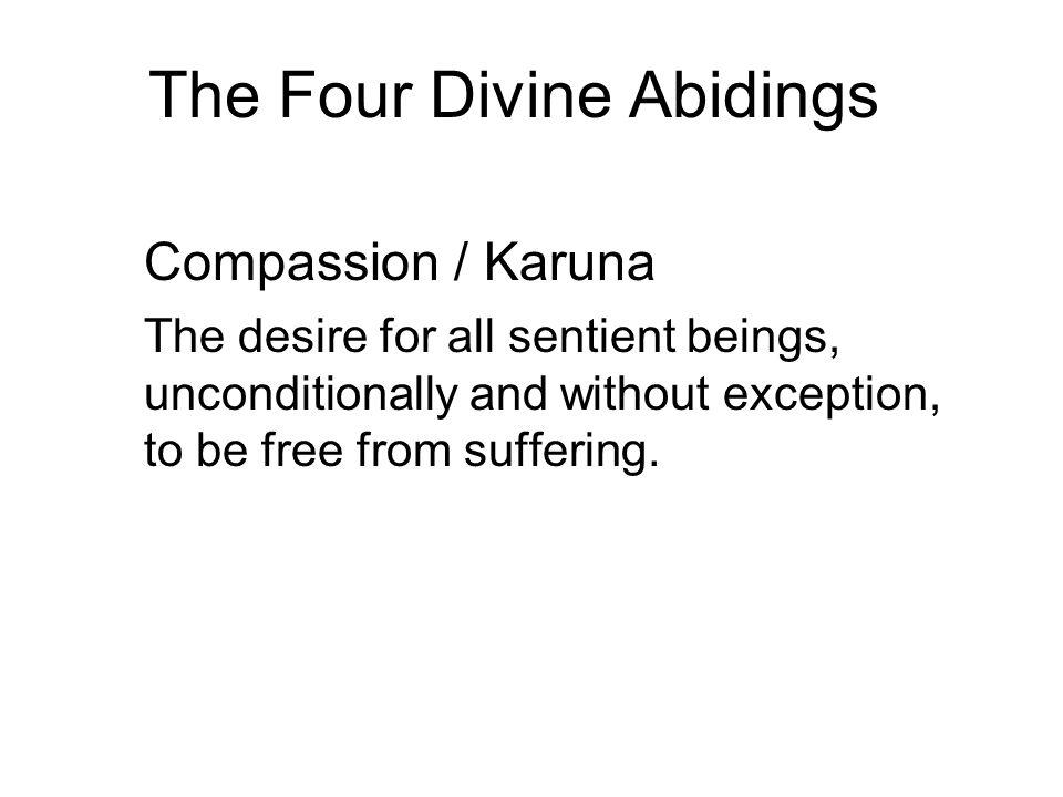 The Four Divine Abidings