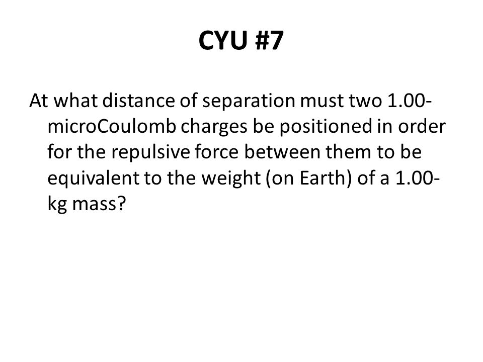 CYU #7