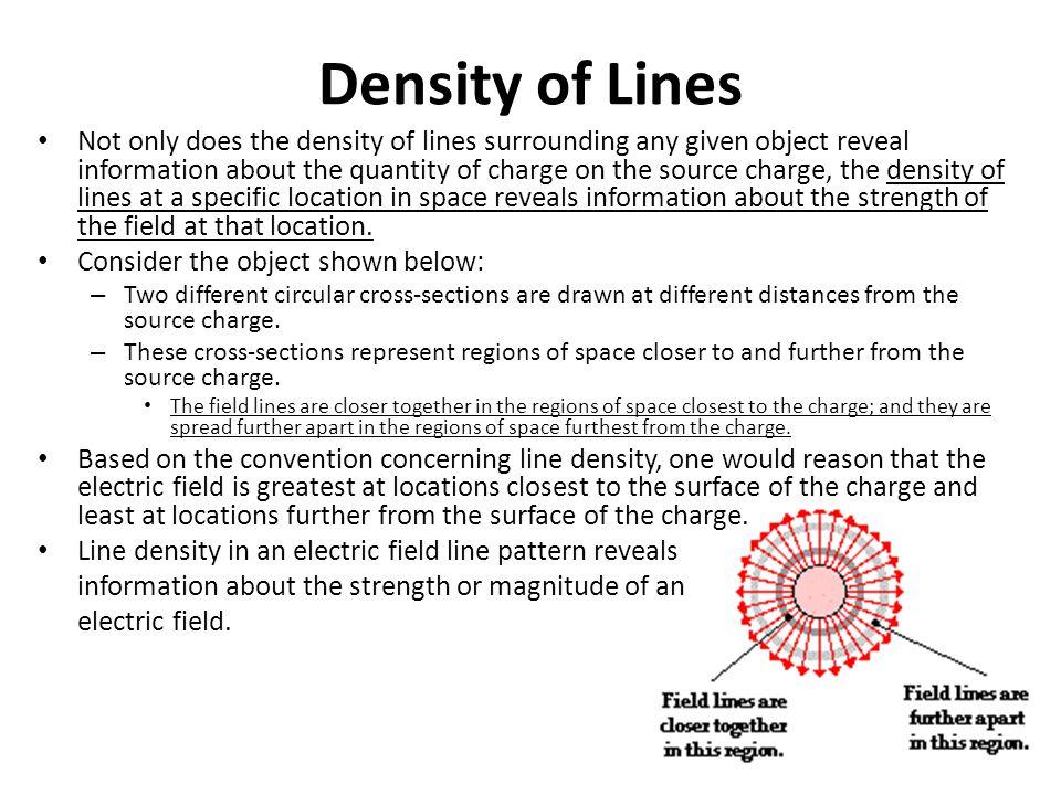 Density of Lines
