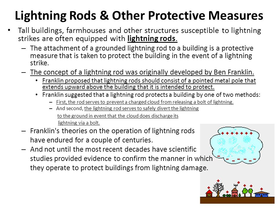 Lightning Rods & Other Protective Measures