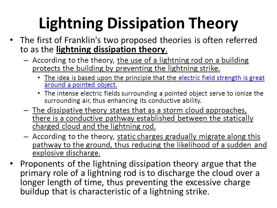 Lightning Dissipation Theory