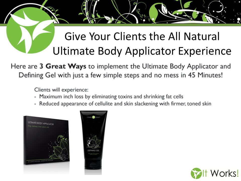 Give Your Clients the All Natural Ultimate Body Applicator Experience