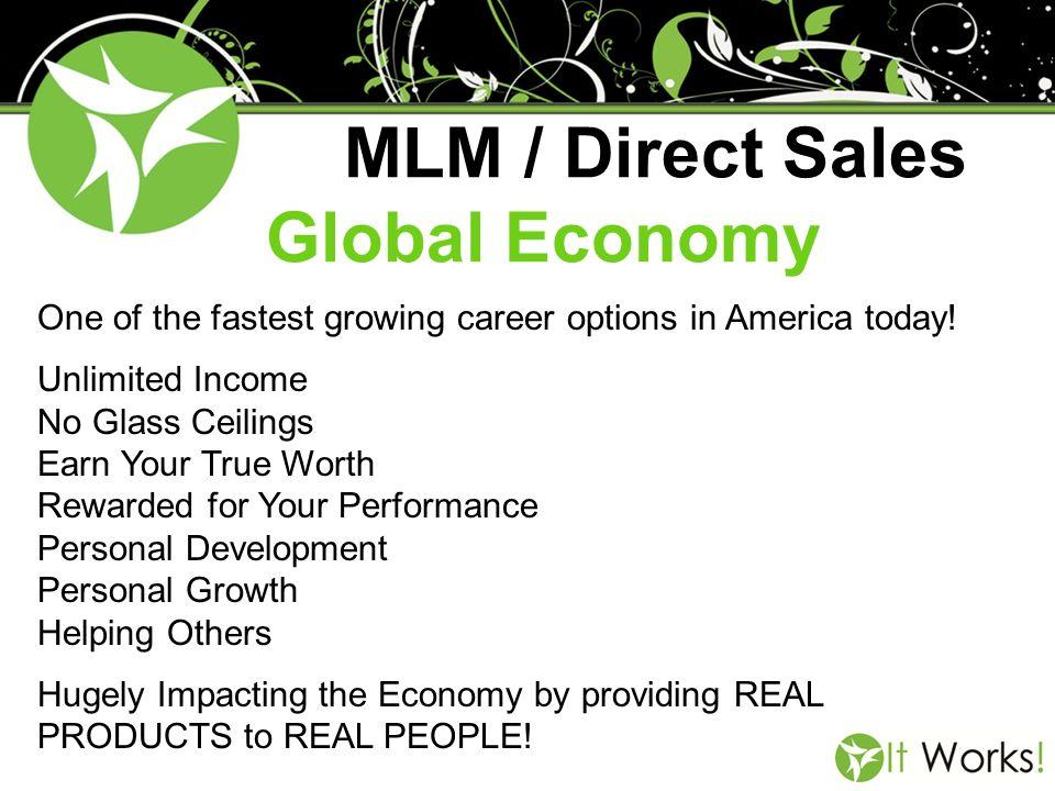 MLM / Direct Sales Global Economy