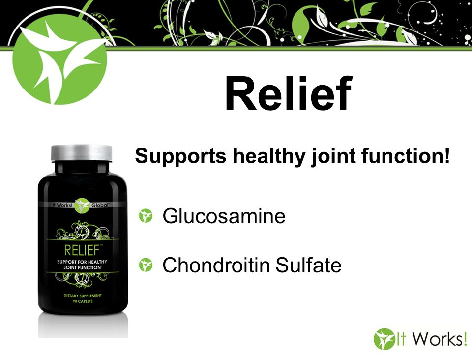 Supports healthy joint function!