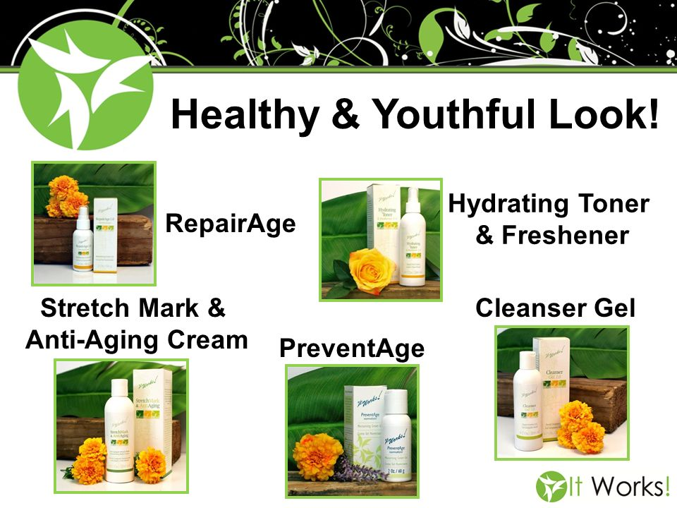 Healthy & Youthful Look!