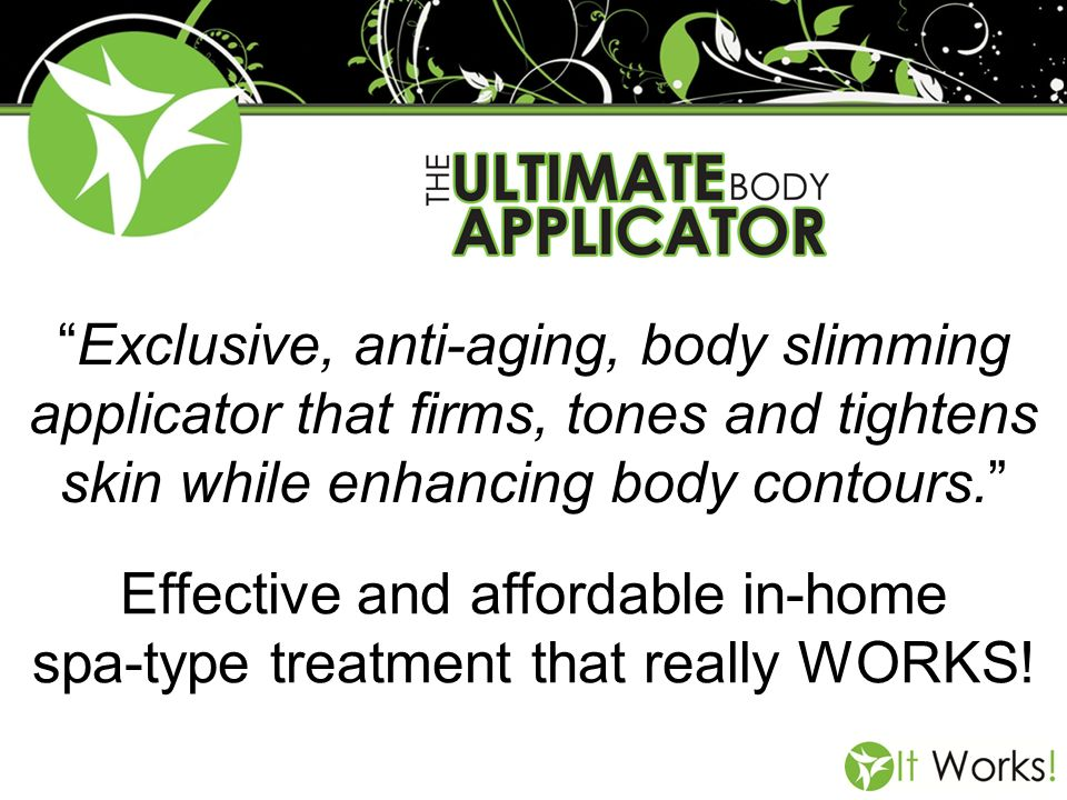 Effective and affordable in-home spa-type treatment that really WORKS!